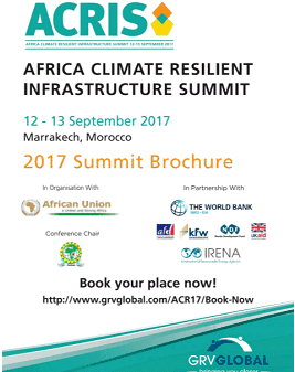 Annual resilient infrastructure meeting – Marrakech