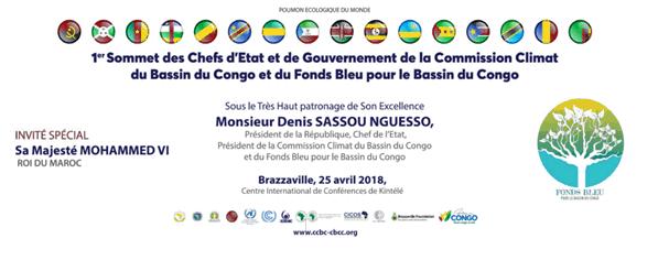 1er sommet des chefs d'État et de gouvernement de la Commission climat du Bassin du Congo et du Fonds bleu pour le Bassin du Con