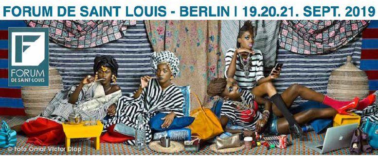 Forum de Saint Louis- Berlin- 19-20-21 septembre 2019