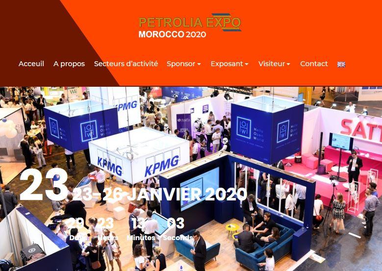 Conférence Internationale du Pétrole et du Gaz et Salon Petrolia Expo - 23 au 26 janvier 2020
